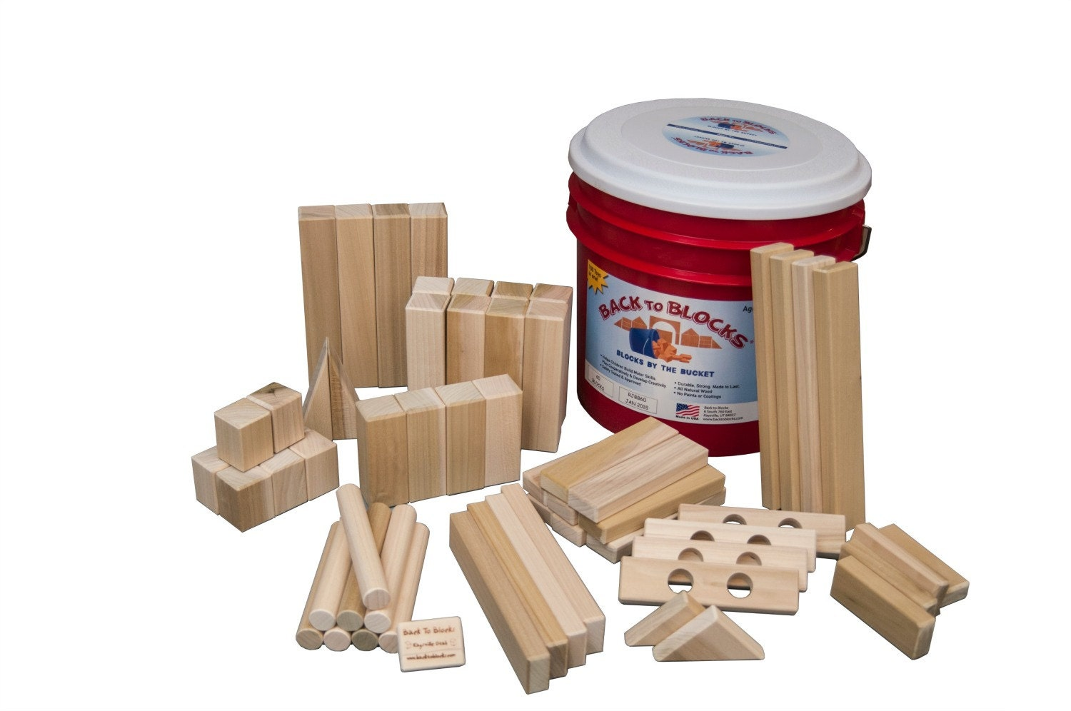 Big Wood Blocks ~ Wooden blocks large building in by