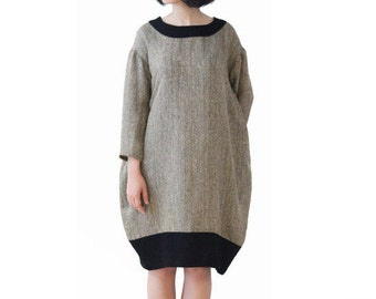 Woman Dress Linen Dress Loose Dress Bud Dress Spring Dress