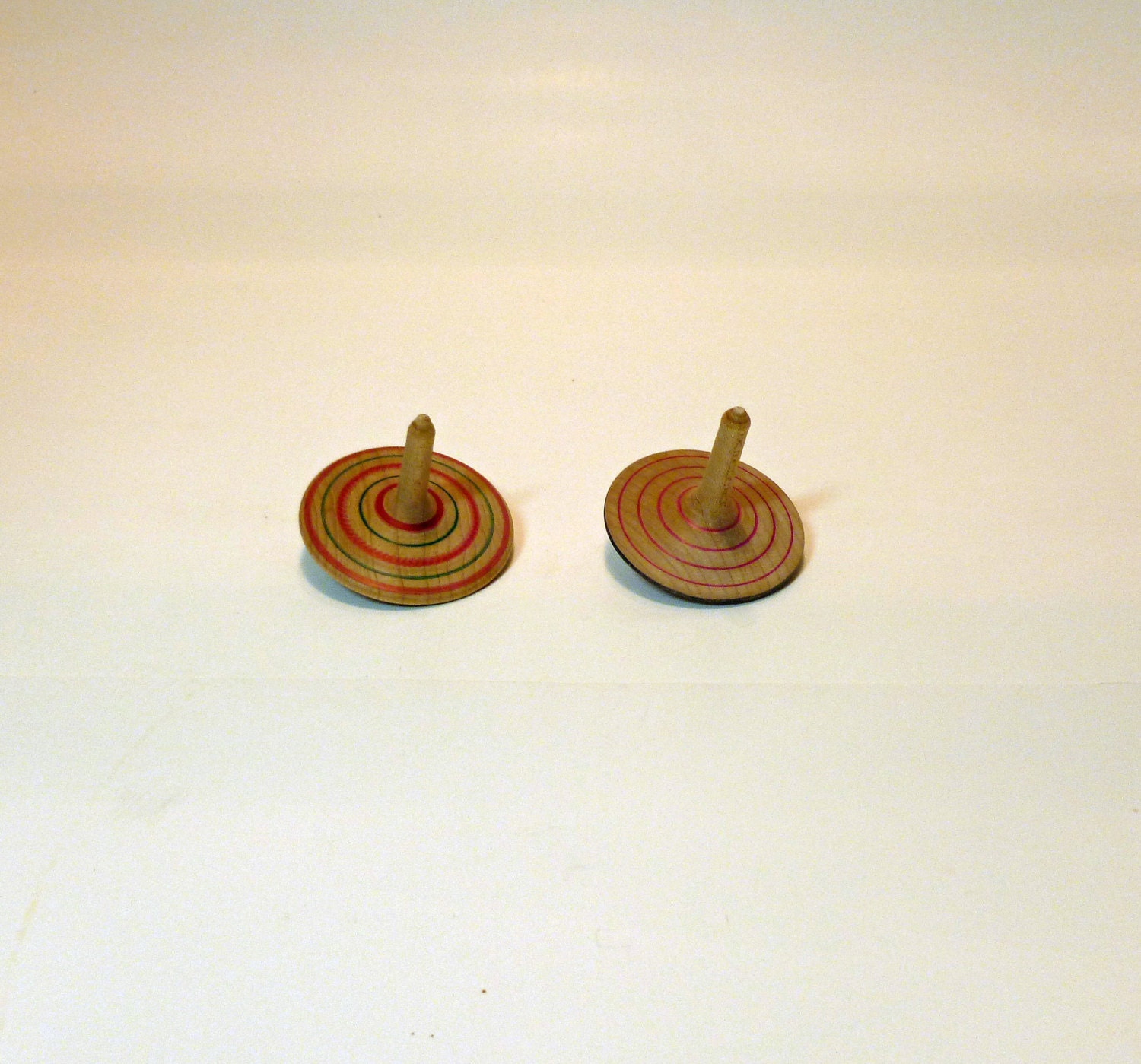 Handmade Wooden Spinning Tops by mcarroll5 on Etsy
