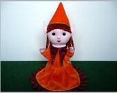 Filiella, the elf girl - hand puppet