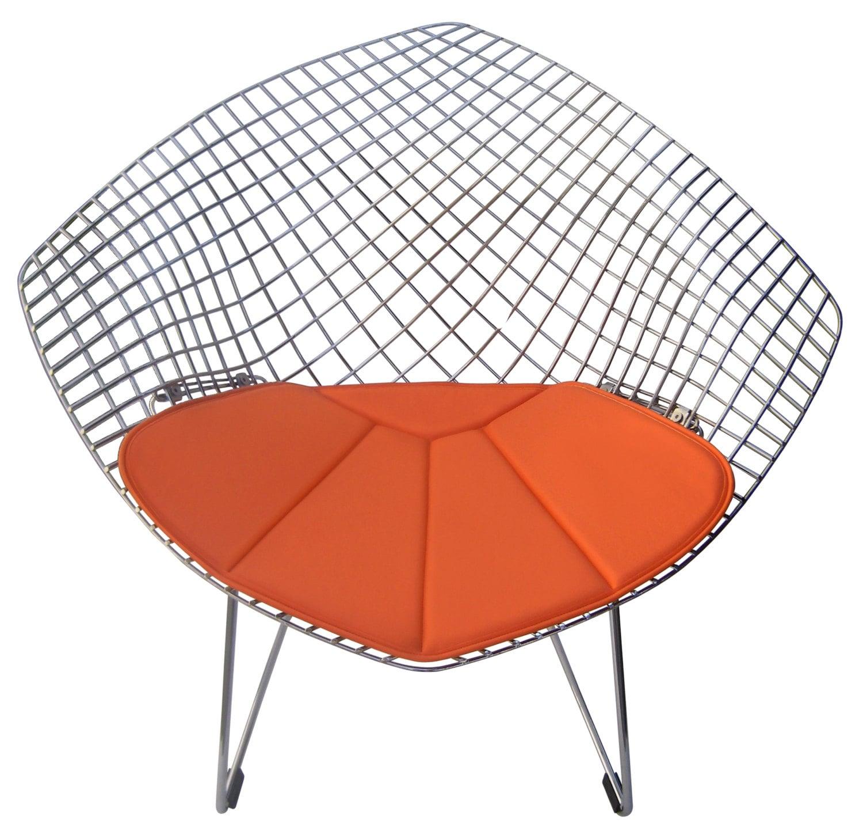 coussin pour chaise bertoia diamond beaucoup de couleurs. Black Bedroom Furniture Sets. Home Design Ideas