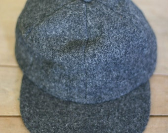 vintage harris tweed hat with earflaps size M