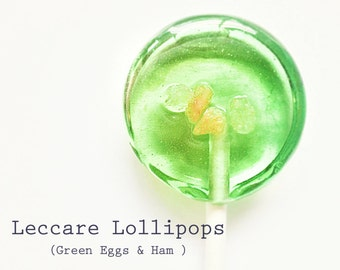 Spring Wedding Favor // 6 Lollipops // Salted Apple Caramel // Fall Wedding // Summer Wedding // Green Favors