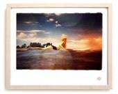 "Surf Photo Print ""My Love"" - Borrowed Light Series"