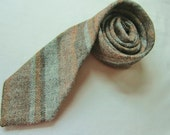 Vintage TWEED tie WOVEN and made inSCOTLAND
