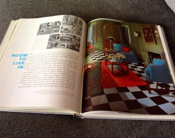 Vintage decorating book - The world of decorating on a budget 1967
