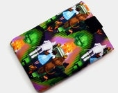 Hand Crafted Tablet Case From Wizard of Oz--Emerald City  Fabric /Case for: iPad Mini, Kindle Fire HD 7, Samsung Galaxy 7, Google Nexus 7