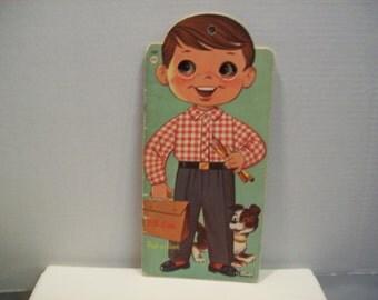 Vintage Jim or His Peek-A - Book Lowe publ #2360 1961 darling!