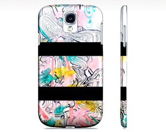 Samsung Galaxy Phone Case - Cell Phone Cover - Watercolor cell phone case - Phone accessory - Samsung Galaxy s4 - Phone cover