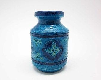 Paisley decor vase designed by Aldo Londi (Bitossi)