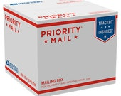 Priority Mail Shipping Upgrade With Insurance
