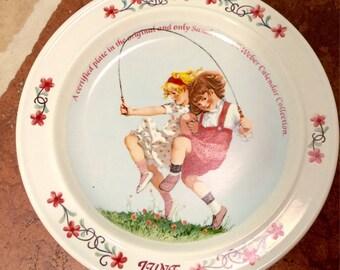 June 1984 Sarah Stilwell Weber plate FREE SHIPPING!