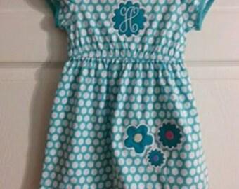 Monogram Dress - Baby/Toddler
