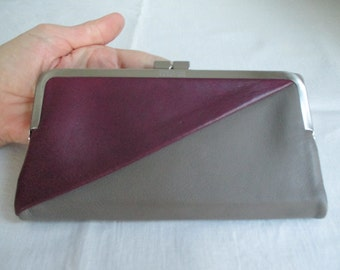 Vintage Mint Kenneth Cole Reaction Two Tone Wallet