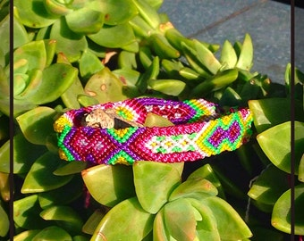 Sunset Friendship Bracelet - 12 Strings (015s)