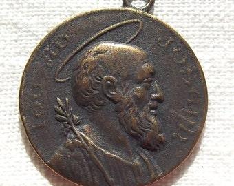 Bronze St. Saint Joseph Medal