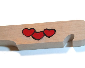 Hearts Oven Rack Push Pull Stick