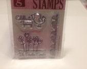 celebrate spring  clear stamp set, 35-60 mm (SB2)
