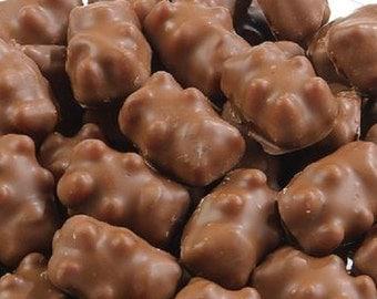Chocolate Dipped Cinnamon Bears