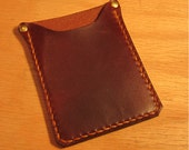 Small Card Case, Mini Wallet, Micro Wallet, Brown Wallet, Leather Card Case, Leather Wallet, Minimalist Wallet