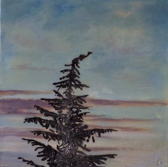 www.etsy.com/listing/208298848/lone-tree-8x8-original-encaustic