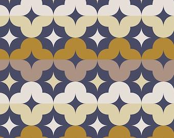 SAVE on 2.97 yd. bolt end--ATHENA--Aurora Medallions Bronze--Angela Walters for Art Gallery Fabrics