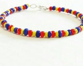 Autism Awareness Beaded Bracelet