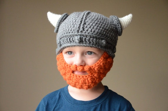 Free Crochet Pattern Viking Hat With Beard Traitoro For