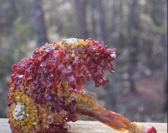Glass bouquet custom colors
