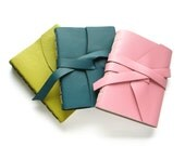 Customize Your Large Leather Sketchbook - Choose your Leather & Thread colours