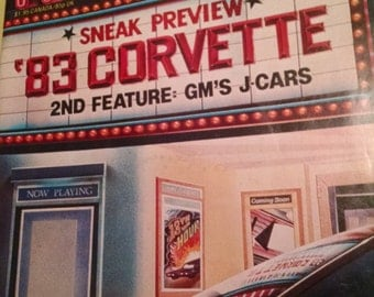 "Road Test April 1981, ""1983 Covette"""