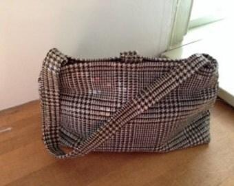 Designer vintage Amy Chan tile handbag