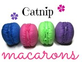 Cat Toy  - Catnip Macaroons - French Macarons
