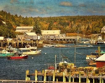Soutwest Harbor, Maine, Fine Art Photography, Landscape Photography, Maine Photography