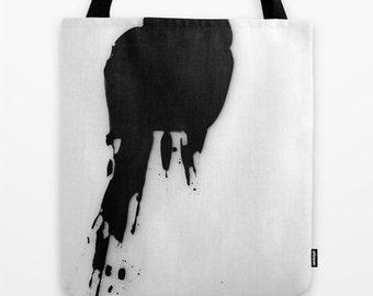 Splat, Photo Tote Bag, Tote Bag, Reusable Bag, Abstract Tote
