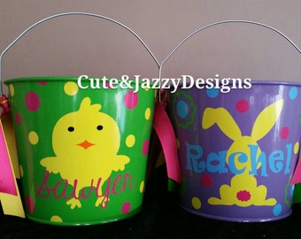 Personalized 5qt Tin Bucket