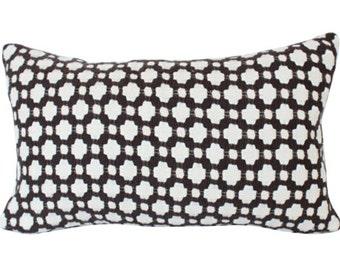 Lumbar Pillow Cover in Brown Betwixt