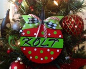 Christmas Ornament Personalized Wooden Ornament