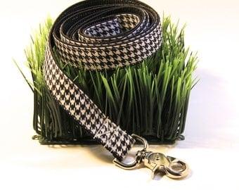 Houndstooth Dog Leash, houndstooth, dog leash