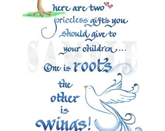 ROOTS AND WINGS - 1145