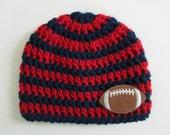 Houston Texans Baby, Houston Texans Hat, Houston Texans, Texans Football, Football Hat, Newborn Hat, Baby Hats, Football Photo Props