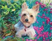 Anastassia Art Oil Painting Custom Dog Portrait - Pet Fine Art From Your Photo on Etsy 16x20