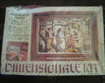 vintage 3D art kit never opened