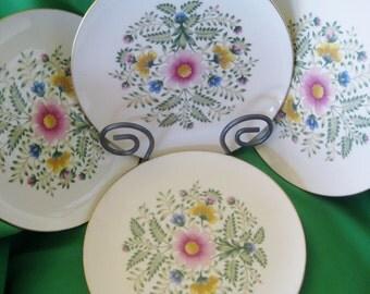 Lenox Cascade Gold Backstamp, Set of Four Dinner Plates,Near Mint, 4 dinner plates