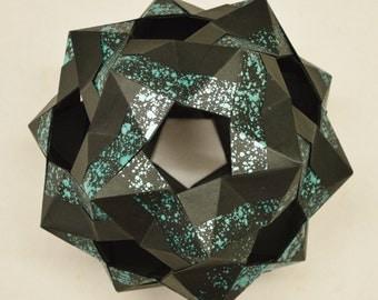 Origami Small Ditrigonal Icosidodecahedron