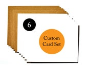 Set of 6 cards - save 15%, buy 5 get one free