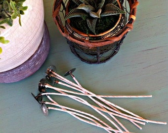 Eco 10 Wicks for Candlemaking, Soy Candle Wicks, Cotton Wicks, Candle Wicks, Eco-10 Series, Eco-10 Wick