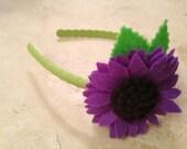Single daisy headband