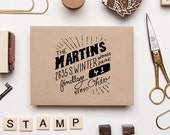 Custom Hand Drawn Address Stamp