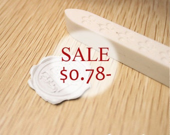 1 pc Sealing Wax Stick for Wax Seal Stamp - White